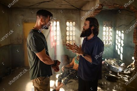 Chris Hemsworth as Tyler Rake and Sam Hargrave Director