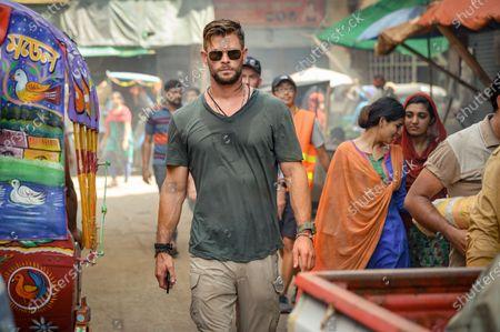 Chris Hemsworth as Tyler Rake