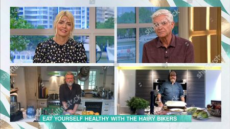 Holly Willoughby, Phillip Schofield, Si King, Dave Myers