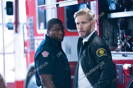 Okieriete Onaodowan as Dean Miller and Brett Tucker as Lucas Ripley