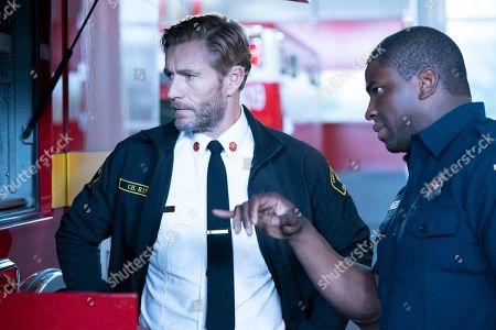 Brett Tucker as Lucas Ripley and Okieriete Onaodowan as Dean Miller