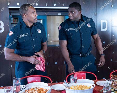 Jason Winston George as Dr. Ben Warren and Okieriete Onaodowan as Dean Miller