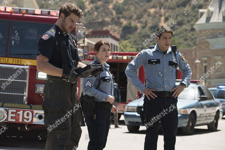 Grey Damon as Jack Gibson, Stefanie Black as Alberto Frezza as Ryan Tanner as Sgt. Brit Logue