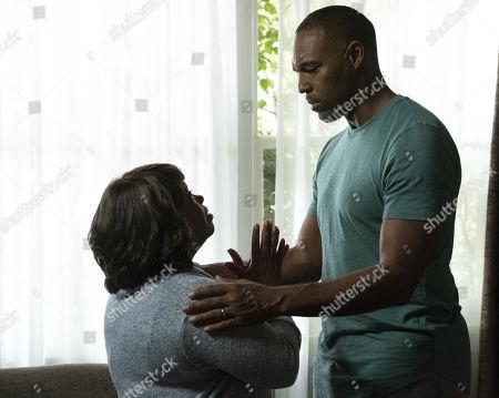 Chandra Wilson as Dr. Miranda Bailey and Jason Winston George as Dr. Ben Warren