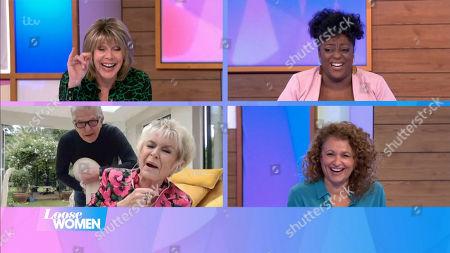 Stock Photo of Ruth Langsford, Judi Love, Gloria Hunniford, Nadia Sawalha, Stephen Way