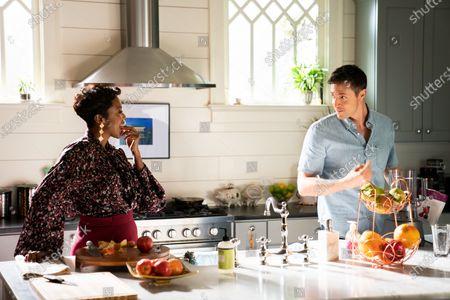 Heather Headley as Helen Decatur and Michael Shenefelt as Ryan Wingate