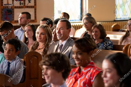 Stock Photo of Jamie Lynn Spears as Noreen Fitzgibbons and Chris Klein as Bill Townsend
