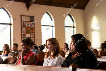 Heather Headley as Helen Decatur, JoAnna Garcia Swisher as Maddie Townsend and Brooke Elliott as Dana Sue Sullivan