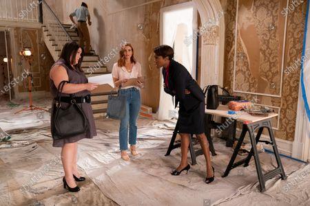 Brooke Elliott as Dana Sue Sullivan, JoAnna Garcia Swisher as Maddie Townsend and Heather Headley as Helen Decatur