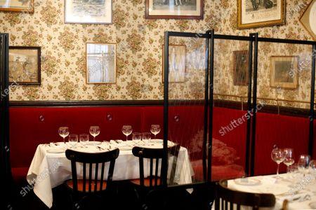Editorial image of Virus Outbreak French Restaurant, Paris, France - 11 Jun 2020