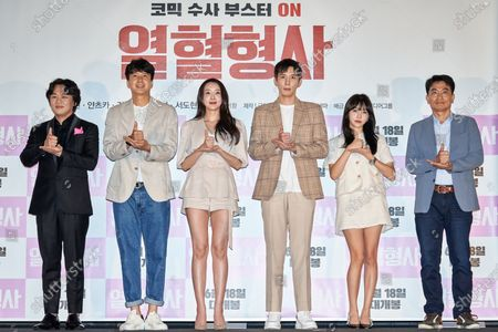 Stock Picture of Kim In-kwon, Kim Seung-hyun, Ha Joo-hee, Seo Do-hyun, Chun Yi-seul, Yoon Yeo-chang