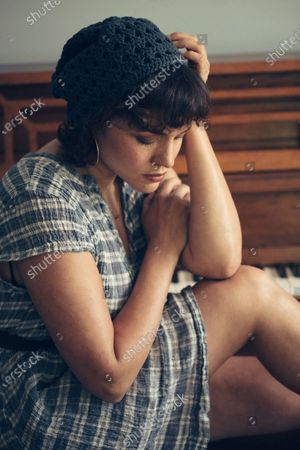 """Stock Photo of Singer-songwriter Norah Jones poses for a portrait in Hudson, N.Y., to promote her latest album """"Pick Me Up Off the Floor"""