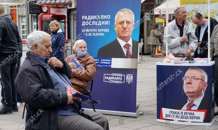 Editorial image of Serbia campaign for the upcoming parliamentary elections, Belgrade, Serbia - 02 Jun 2020