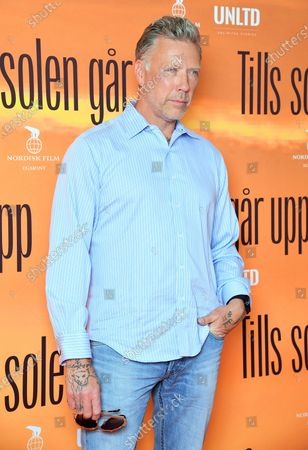 """Stock Photo of Swedish actor Mikael Persbrandt at a photo call for the movie """"Tills solen går upp"""" (Until the sun rises)"""