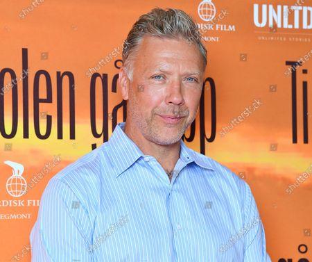 "Swedish actor Mikael Persbrandt at a photo call for the movie ""Tills solen går upp"" (Until the sun rises)"