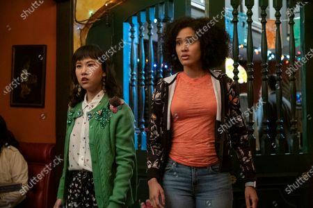 Ramona Young as Eleanor Wong and Lee Rodriguez as Fabiola Torres