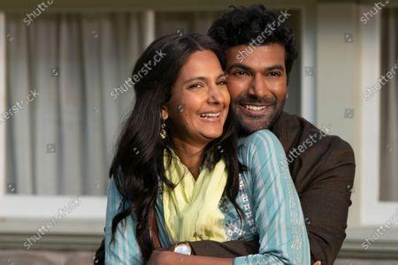 Poorna Jagannathan as Nalini and Sendhil Ramamurthy as Mohan Venkatesan