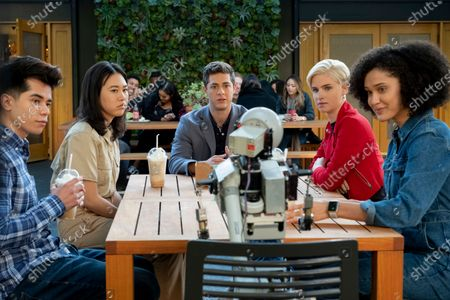 Martin Martinez as Oliver Martinez, Ramona Young as Eleanor Wong, Jaren Lewison as Ben Gross, Christina Kartchner as Eve and Lee Rodriguez as Fabiola Torres