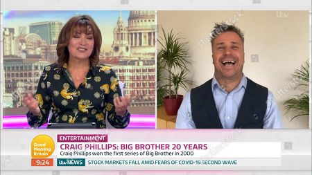 Editorial image of 'Good Morning Britain' TV Show, London, UK - 12 Jun 2020