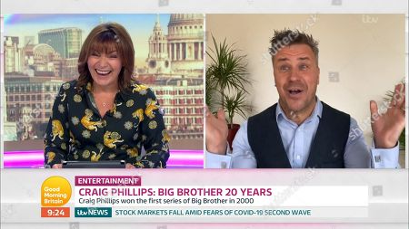 Lorraine Kelly and Craig Phillips