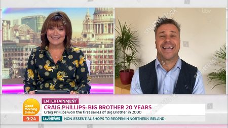Editorial picture of 'Good Morning Britain' TV Show, London, UK - 12 Jun 2020