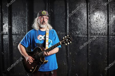 Editorial image of J Mascis Portrait Shoot, Bristol, UK - 18 May 2019