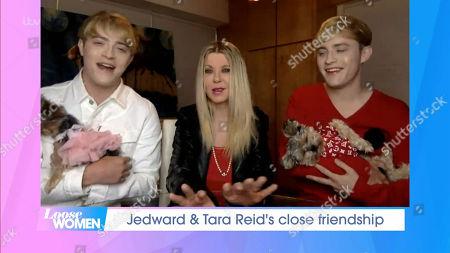 Jedward and Tara Reid