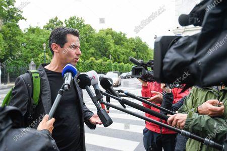 Editorial photo of Politics Kern Meeting, Brussels, Belgium - 12 Jun 2020
