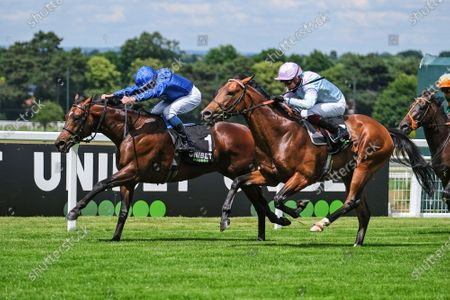 Editorial picture of Horse Racing from Sandown, UK - 13 Jun 2020