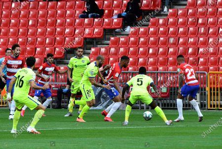 Editorial image of Granada CF vs Getafe, Spain - 12 Jun 2020