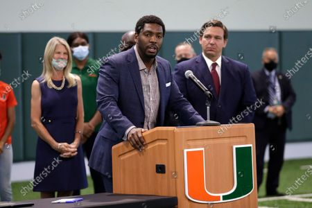 Editorial picture of NCAA Compensating Athletes, Coral Gables, United States - 12 Jun 2020