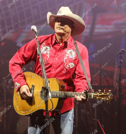 Alan Jackson performs at The Alan Jackson's Small Town Drive-In Concert on June 12, 2020 in Cullman, Alabama.
