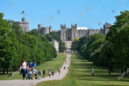 The Long Walk at Windsor Castle