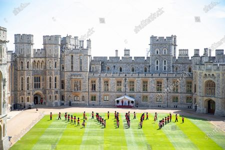 Editorial image of Queen Elizabeth II official birthday celebration, Windsor, UK - 13 Jun 2020