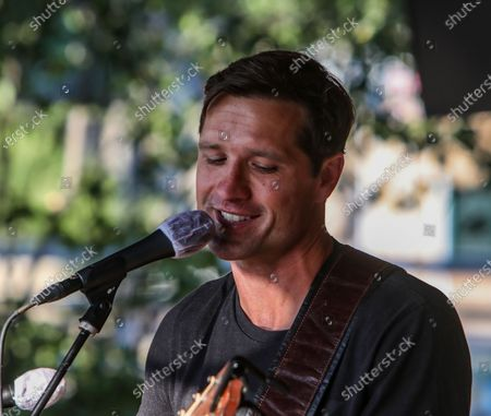 Editorial picture of 1033 Country Radio secret show in support of new single trash my heart, Nashville, Tennessee, USA - 14 Jun 2020