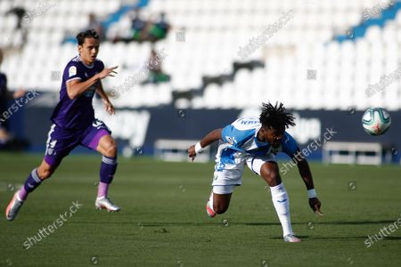 Editorial picture of Leganes v Valladolid, La Liga, football, Municipal Butarque Stadium, Leganes, Spain - 13 Jun 2020