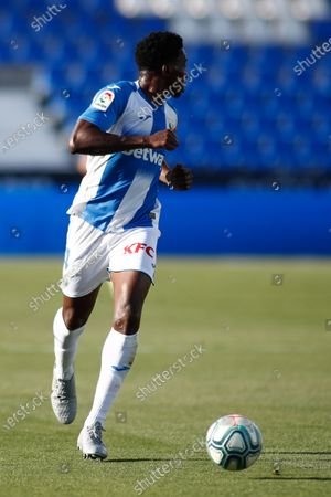 Stock Photo of Kenneth Omeruo of Leganes in action