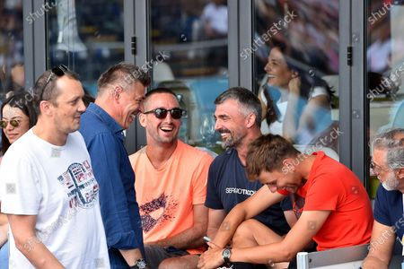 12.06.2020, , Belgrad, SBR, Tennis, Adria Tour ,  Goran Ivanisevic, Trainer of  Novak Djokovic