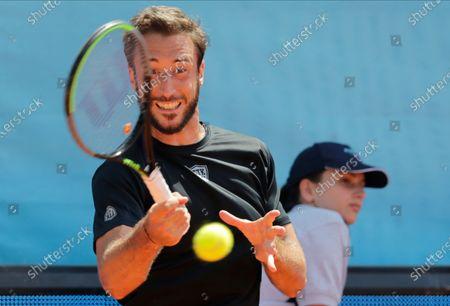 Editorial image of Adria Tour tennis tournament in Belgrade, Serbia - 14 Jun 2020