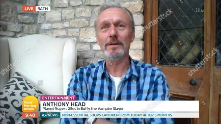 Stock Picture of Anthony Head