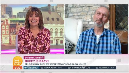 Editorial picture of 'Good Morning Britain' TV Show, London, UK - 15 Jun 2020