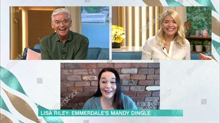 Holly Willoughby, Phillip Schofield and Lisa Riley