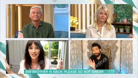 Holly Willoughby, Phillip Schofield, Davina McCall and Rylan Clarke