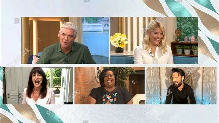 Holly Willoughby, Phillip Schofield, Davina McCall, Alison Hammond and Rylan Clarke