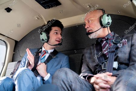 Ben Schwartz as F. Tony Scarapiducci and John Malkovich as Dr. Adrian Mallory