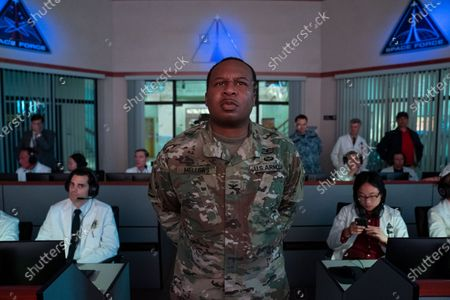 Roy Wood Jr.. as Liaison Bert Mellows and Jimmy O. Yang as Dr. Chan Kaifang