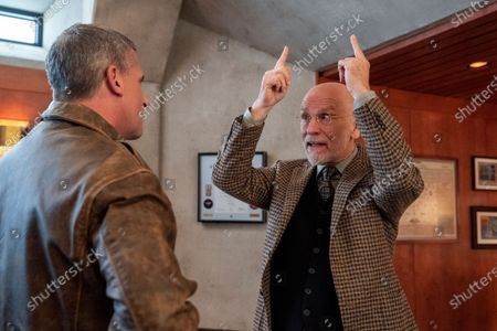 Steve Carell as General Mark R. Naird and John Malkovich as Dr. Adrian Mallory