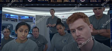 Editorial picture of 'Space Force' TV Show. Season 1 - 2020