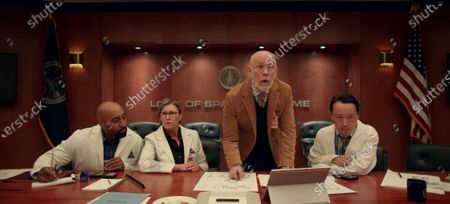 Exie Booker as Dr. Carter and John Malkovich as Dr. Adrian Mallory