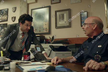 Ben Schwartz as F. Tony Scarapiducci and Don Lake as Brad Gregory